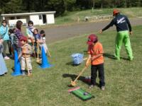 野外活動(グラウンドゴルフ)の説明